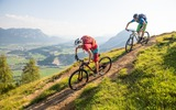 2 Mountainbiker in der Region Hohe Salve