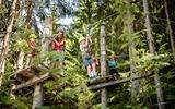 Kinder im Kletterwald Hornpark