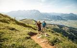 2 Wanderer in St. Johann in Tirol