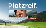 Werbesujet Zillertaltourismus Platzreif