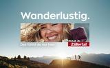 Werbesujet Zillertaltourismus Wanderlustig
