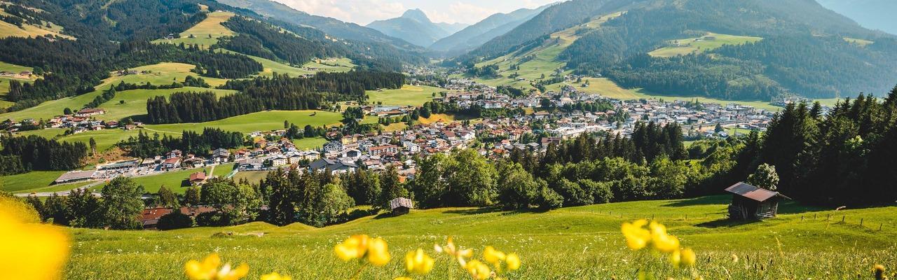 Panoramaansicht von Kirchberg