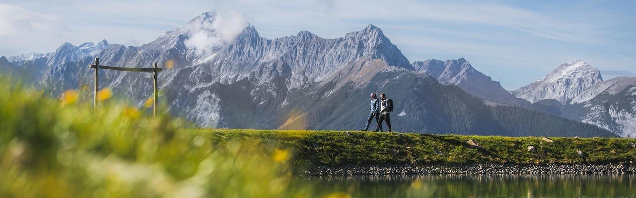 2 Wanderer in der Silberregion Karwendel