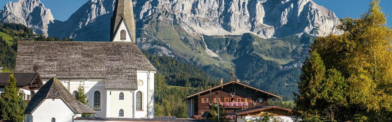 Ansicht von Reith bei Kitzbühel