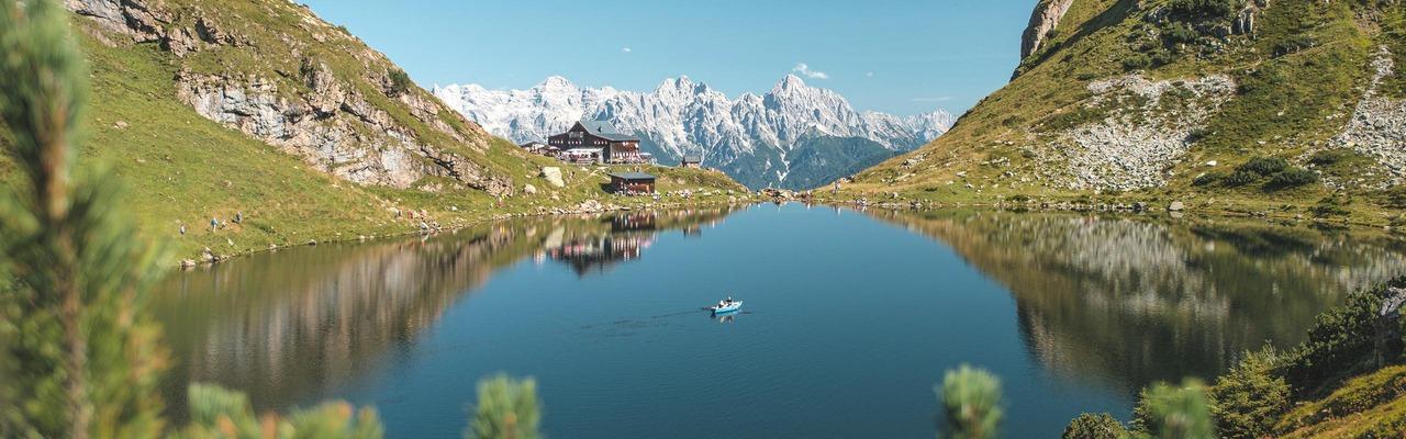 Bergsee in der Region PillerseeTal