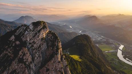 Gipfel über Kufstein