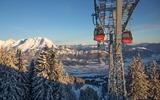 2 Gondeln in St. Johann in Tirol