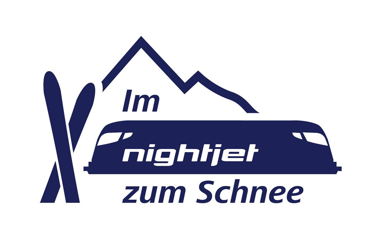 Key Visual Im Nightjet zum Schnee