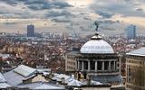 Vista aerea di Bruxelles