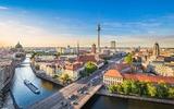 Panorama de vue sur la ville de Berlin