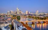 Frankfurt City view at night