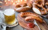 Monaco Brezn Beer e Grillwurst