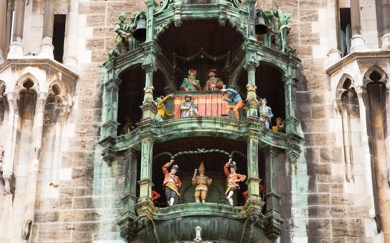 Beiaard van München bij het stadhuis