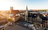 Marienplatz van München