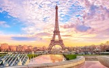 De Eiffeltoren in al zijn glorie