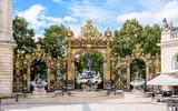 De Neptunus-fontein in Nancy