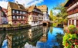 """""""La Petite France"""" in Straatsburg"""