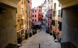 Steegje in het oude centrum van Genua