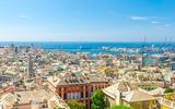 Panorama over Genua