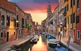Venetië schemering