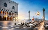 Restaurant van Venetië op het San Marcoplein
