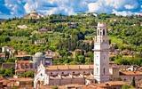 Verona Blick über die Dächer