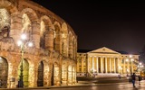Verona Arena und Palazzo Barbieri