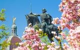 Zagreb standbeeld van koning Tomislav
