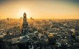 Zonsopkomst in Utrecht
