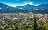 Panorama van Innsbruck