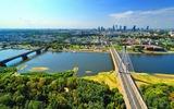 Warschau Stadtblick