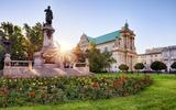 Warschau Adam Mickiewicz Statue