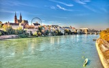 Vista della città di Basilea