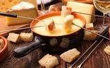 Fonduta di formaggio svizzera