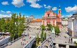 Laibach Preseren Platz