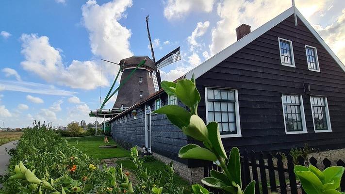 Casa tradizionale nei Paesi Bassi