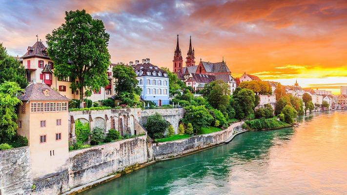 Panorama di Basilea
