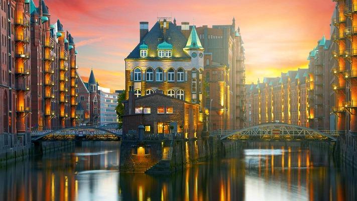 Hamburg Alte Speicherstadt