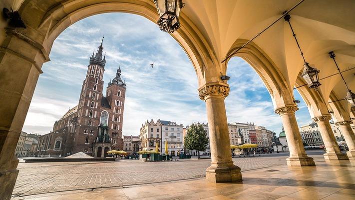 Krakau Marktplatz