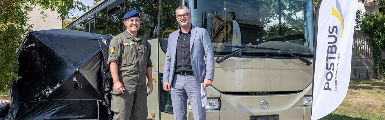 Postbus unterstützt das österreichische Bundesheer