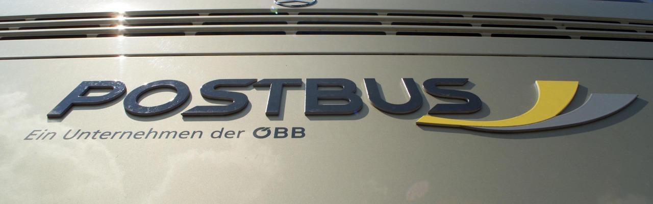 Heckaufnahme mit Postbus Logo