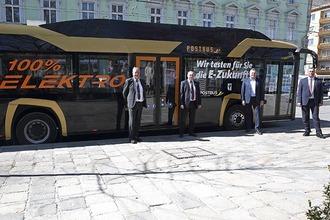 E-Bus in Linz