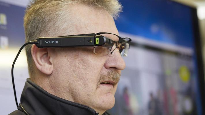 Smart Glasses Nahaufnahme