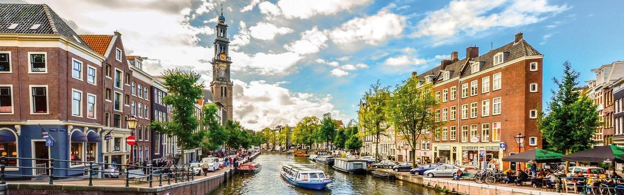 Amsterdam Kanalblick