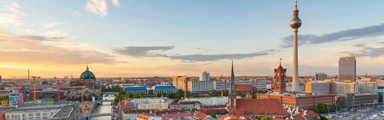 Berlin mit Blick auf die Spree