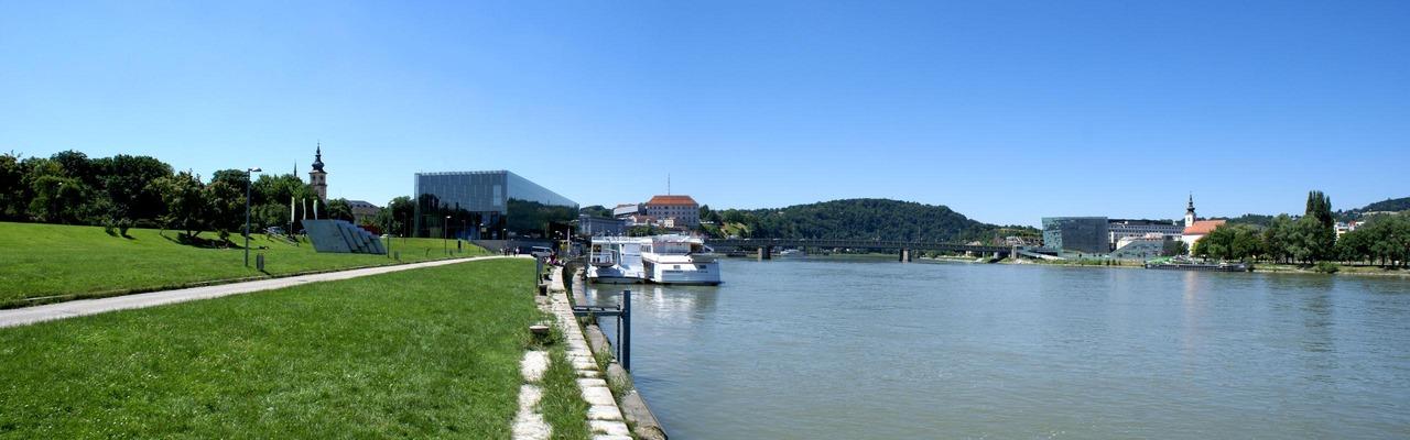 Donaupark Panorma Linz