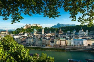 Blick auf Hohenfestung Salzburg