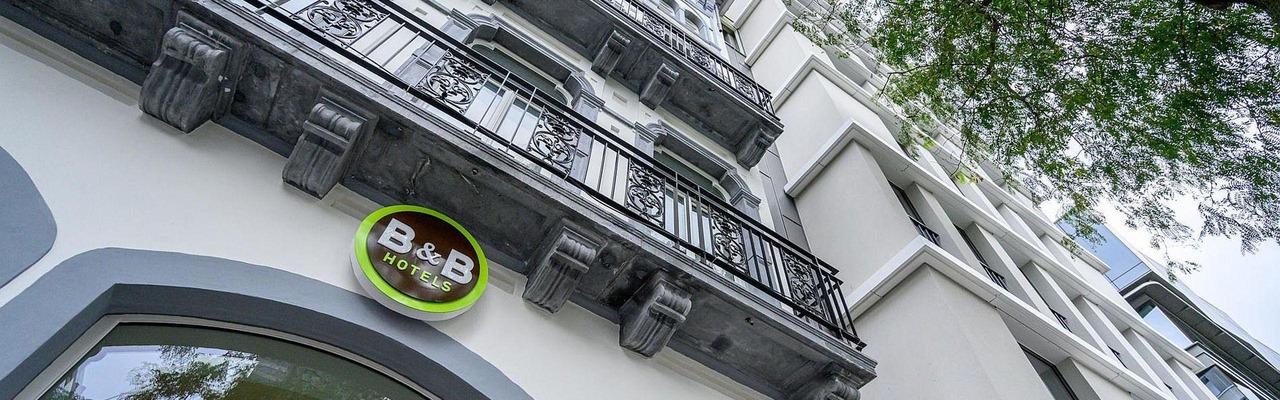 B&B Hotel Brussels Centre Gare du Midi Außenansicht