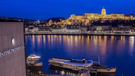 Hotel Intercontinental Budapest Außenansicht