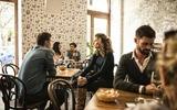 ein Café in Prag